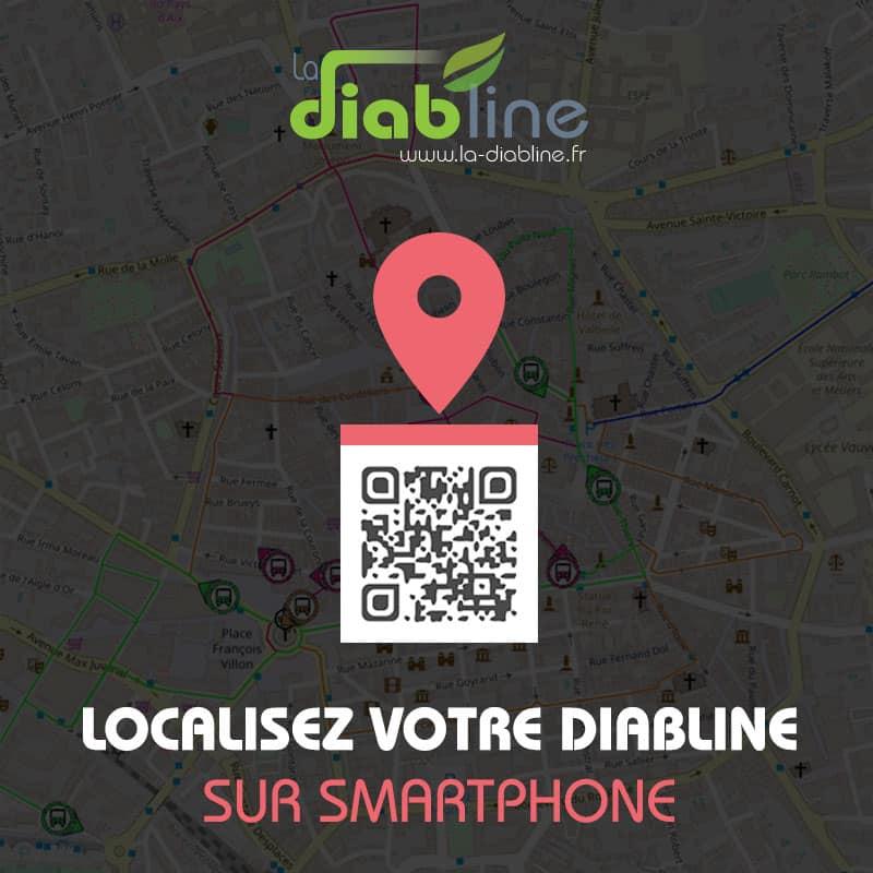 NOUVEAU : Localisez votre Diabline sur smartphone